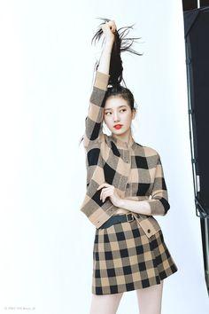 Vogue Korea, Vogue Spain, Bae Suzy, Vogue Fashion, Pop Fashion, Cute Korean Fashion, Miss A Suzy, Instyle Magazine, Cosmopolitan Magazine