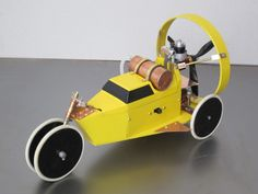 Propeller car RC