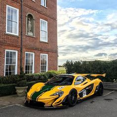 An icon livery from history on a new iconic car. Mclaren P1, History, Car, Instagram Posts, Historia, Automobile, Autos, Cars