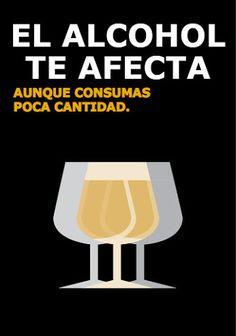 Creatividad en comunicación visual aplicada a una campaña de educación vial sobre alcoholemia.
