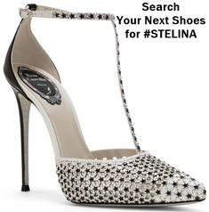 Rene Caovilla, Pretty Shoes, Beautiful Shoes, Pumps, Stiletto Heels, High Heels, Shoe Boots, Shoes Heels, Next Shoes
