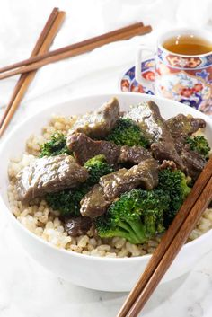 This venison recipe has a rich and smokey flavor that is balanced with a contrast of sweet and salty. Venison and broccoli with oyster sauce is a perfect weeknight dinner! Venison Recipes, Broccoli Rice, Oyster Sauce, Shredded Coconut, Sweet And Salty, Oysters, Pumpkin Rolls, Dinner Recipes, Asian Style