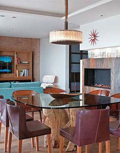 1000 images about sala de jantar e estar on pinterest mesas dinner room and madeira. Black Bedroom Furniture Sets. Home Design Ideas