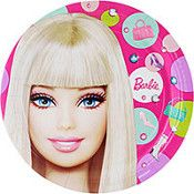Barbie Lunch Plates 8ct