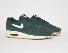 #Nike Air Max 1 Green #sneakers