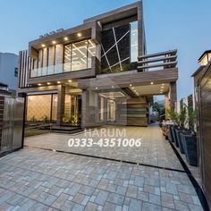 Architecture Building Design, Home Building Design, Building A House, House Architecture, Unique House Design, Cool House Designs, House Elevation, Front Elevation, Modern House Facades
