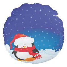 Cute little Christmas penguin