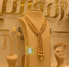 Gold Plated Necklace, Gold Necklace, Gold Bracelet Indian, Gold Fashion, Fashion Jewelry, Diamond Jewelry, Gold Jewelry, Pakistani Bridal Jewelry, Bridal Necklace