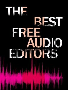 Do you need to do some audio editing - but don't want to pay for an expensive program? Try these free options.