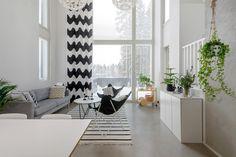 Marimekko, Open Kitchen, Townhouse, Divider, Contemporary, Living Room, Furniture, Helsinki, Home Decor