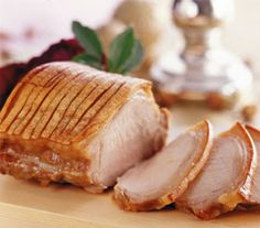 How to make Flæskesteg - Roast Pork w crackling - from the Scandikitchen blog, in English