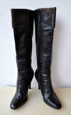 Enzo Angiolini black thigh high boot - ebay