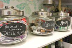 Pantry Storage bins/jars
