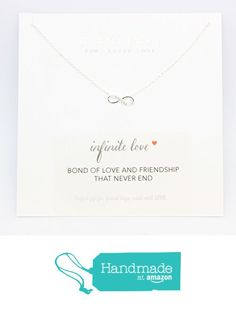 infinite necklace, necklace for her, Best friend necklace for 2, BFF Necklace, friendship necklace for 2, silver dainty necklace, Christmas gift, Girlfriend, jewelry with meaning from DIANPEARL https://www.amazon.com/dp/B01M7RB9GB/ref=hnd_sw_r_pi_dp_wtTbyb6T7S5EX #handmadeatamazon