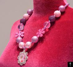 Frozen Elsa Necklace Frozen Girls Chunky Necklace Girls by BYTWINS Owl Jewelry, Antique Jewelry, Jewellery, Elsa Frozen, Disney Frozen, Fashion Jewelry, Women's Fashion, Chunky Beads, Monogram Necklace