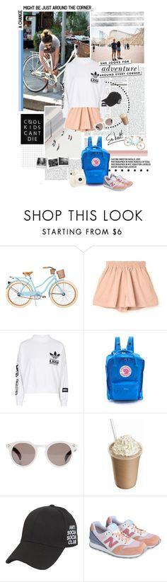 """this summer, i must try to play games"" by ruchita ❤ liked on Polyvore featuring Behance, Dead Castle Project, adidas, Fjällräven, Illesteva, Kate Spade, Polaroid, New Balance and Sonia Rykiel"