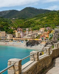 Vernazza to Monterosso: view from the path in Cinque Terre, Italy! Spain Travel, Greece Travel, Italy Travel, Italy Culture, Spain Culture, Weather In Italy, Places To Travel, Places To Visit, Backpacking Spain