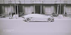 Z-1797 Hot Lamborghini Centenario Super Car Cool Gift Racing Poster Art Decor