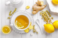 1. Start every day with hot water and a squeeze of lemon.