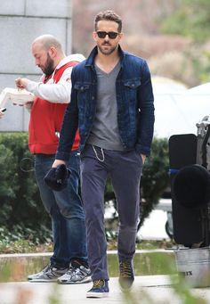 Men's street style | Ryan Reynolds | © GTRESONLINE