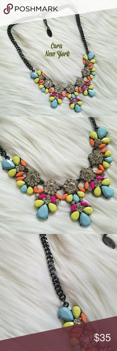New Cara New York Multi Color Necklace! Never been worn!! Gorgeous necklace as you can see! Cara New York Jewelry Necklaces