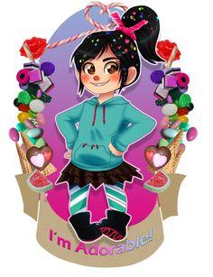 by Kikuri-Tan on DeviantArt Wreck It Ralph, Barbie Princess, Royal Princess, Art Drawings Sketches, Cartoon Drawings, Ralph Disney, Disney Princesses, Disney Characters, Fictional Characters