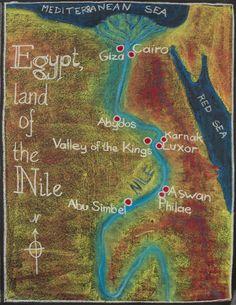 5th Grade: Ancient History and Mythology; Egypt