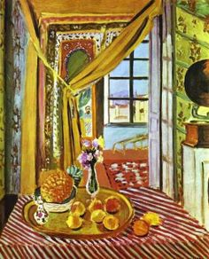 Interior with Phonograph, 1924, Matisse