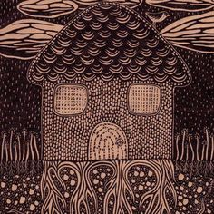 Linocut by Aijung Kim