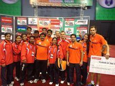 Mumbai Team winning in Delhi..