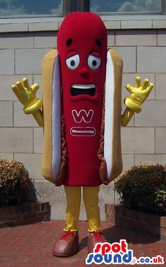 Get mascot Hot dog mascot costume hotdog mascot custom fancy costume anime cosplay kits mascotte fancy dress carnival costume & Food Mascots! | Mascots/Food | Pinterest