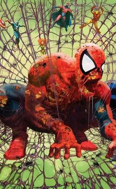 MARVEL ZOMBIES  Homage to SPIDER-MAN #1 - Todd McFarlane
