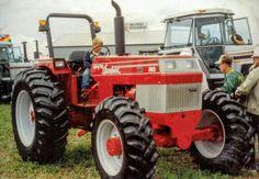 Antique Tractors, Vintage Tractors, Old Tractors, White Tractor, Farming, American, Vehicles, Porn, Trucks