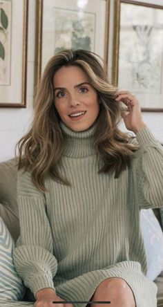 Hair Inspiration, Hair Beauty, Turtle Neck, Hairstyles, Sweaters, Clothes, Fashion, Angel, Haircuts