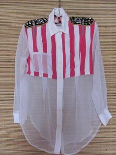 camisa unica  reciclada transparente:)