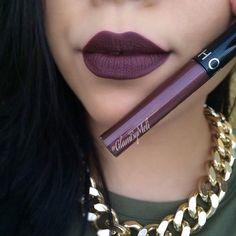 Sephora Cream lip stain in Dark Berry.