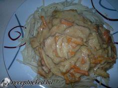 Érdekel a receptje? Kattints a képre! Küldte: Simák Erika Chicken, Meat, Erika, Food, Eten, Meals, Cubs, Kai, Diet