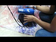 Cosplay How-To's: Dyeing a Wig II (FW ink)