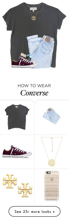 """2 more followers till 1.4k!!!! HELP"" by hgw8503 on Polyvore featuring The Great, Converse, Casetify and Tory Burch"