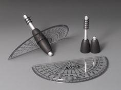 """""""Magneto Scala"""" ein Geschicklichkeitsspiel bei dem der Drehpunkt einer Fläche gefunden werden muss. By kreisel-art.de"""