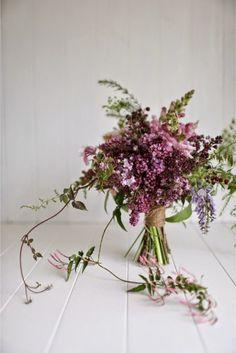 Ana Rosa. Ramo de flores www.fustaiferro.com