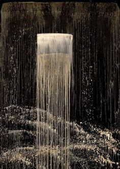 San Francisco Waterfall I - Pat Steir