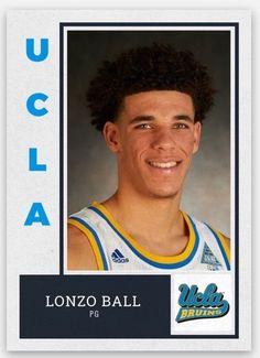 LONZO BALL 2016-17 UCLA BRUINS CUSTOM ROOKIE CARD 2017 NBA Draft LA Lakers | Sports Mem, Cards & Fan Shop, Sports Trading Cards, Basketball Cards | eBay!