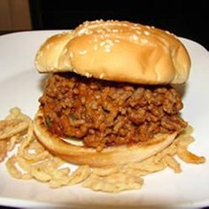 Bachelor Sloppy Joes Allrecipes.com