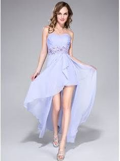 Laced in love blue embellished prom dress