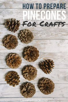 Fall Crafts, Crafts To Make, Pinecone Christmas Crafts, Pine Cone Crafts For Kids, Pinecone Decor, Kids Christmas, Prim Christmas, Country Christmas, Christmas Trees