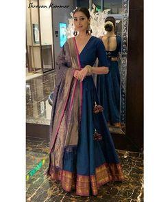 Shravan Studio - Shravan Studio – Source by Sumdresss - Indian Look, Dress Indian Style, Indian Ethnic Wear, Ethnic Gown, Indian Wedding Outfits, Indian Outfits, Indian Party Wear, Wedding Dresses, Indian Designer Suits