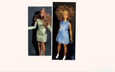Made over from what was left of the head-switch on Barbie Look and Fashionista Bright Pink Lips, Barbie Fashionista, Almost Always, Beautiful Dolls, One Pic, New Hair, Fashion Dolls, New Look, Stylists