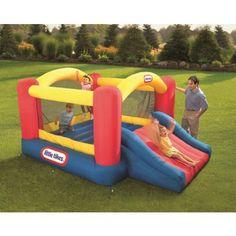 Little Tikes Jump n Slide Dry Bouncer-- #ChristmasGiftIdeas