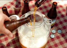 Beer punch! What could be better for a tailgate! #UltimateTailgate #Fanatics